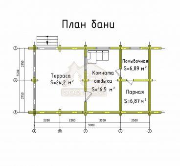 План проекта бани ТБ-22