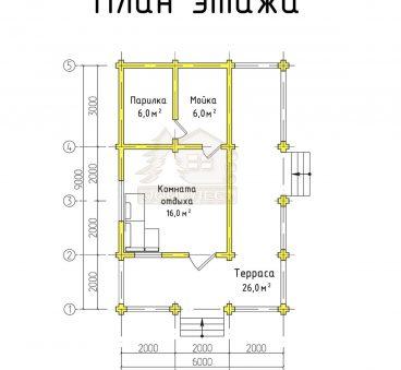 План проекта бани ТБ-64