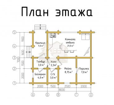 План проекта бани ТБ-27