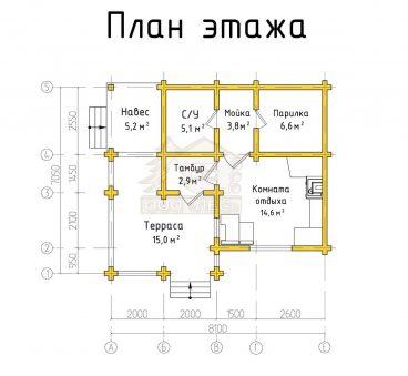 План проекта бани ТБ-39