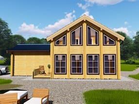Проект дома из бруса ТД-187