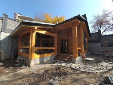 Баня в Казахстане